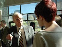 CU President Bruce Benson discusses the Admission Promise program