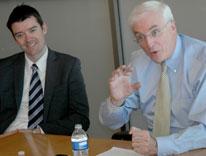 Irish Ambassador to the United States, Michael Collins