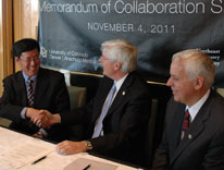 Memorandum of Collaboration Signing