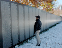 American Veterans Traveling Wall