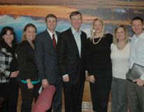 CU Denver marketing students, faculty join Gov. Hickenlooper and Anabliss representatives at Capitol