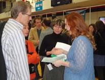Prospective students get information about CU Denver at Spring Open House