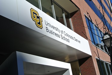 New Business School building, University of Colorado Denver