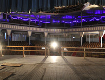 The stage of Elitch Gardens Theatre is being renovated to give rebirth to the historic cultural facility