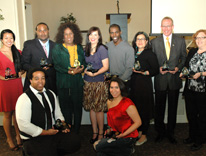 Winners of the Rosa Parks Diversity Awards 2012