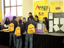 Students gather at the civioc inquiry project