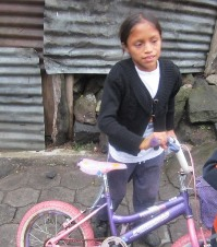 Jessica, Guatemalan child