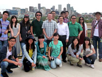 Chinese urban planning students visit Denver and CU Denver