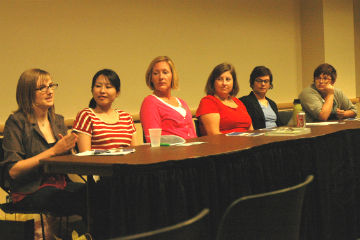 Women in non-profit panel