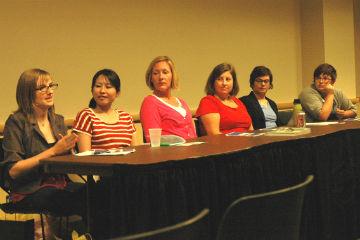 Women in non-profit panel