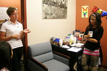 Women's Resource Center hosts first birthday bash