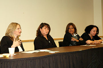 Women in government panel
