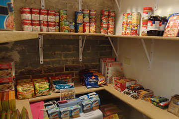 Food pantry at Auraria Campus