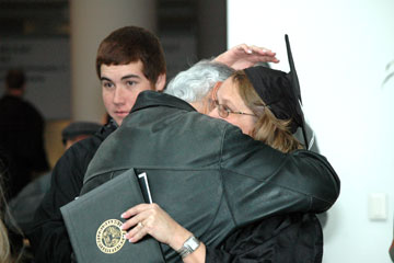 More than 1,300 receive degrees at Fall 2012 Commencement