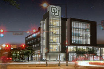 Academic Building One will go up at Larimer Street and Speer Boulevard