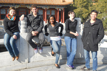 American ICB students in China