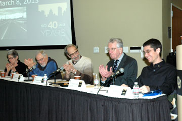 Panelists talk at 40th anniversary commemoration at CU Denver