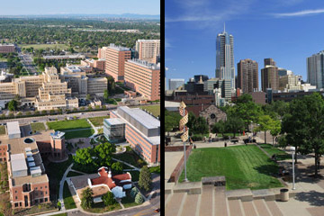 Denver Campus and Anschutz Medical Campus