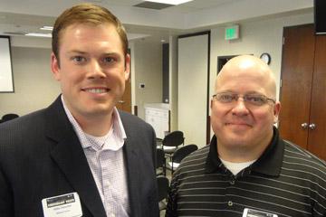 Mike Petschel and Matt Depuy