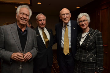 CU officials and Sen. Alan Simpson at the Celebration of Success event