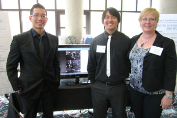 CU Denver computer science students create surveillance system for Design Competition