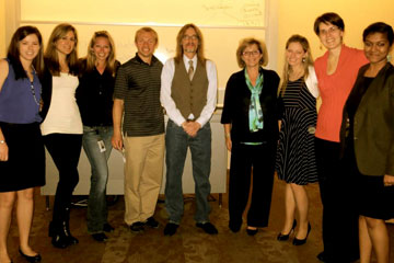 Students and presenters at the Land Your Dream Job event held at CU Denver Business School