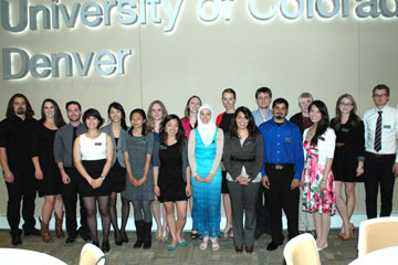 Class of 2013 in the University Honors and Leadership Program