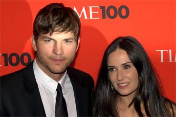 Ashton Kutcher and Demi Moore @ Time100, 2010