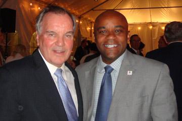 Richard M Daley and Denver Mayor Michael B. Hancock
