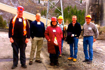 GEM students from CU Denver tour energy conversion plant in Somerset, Colo.