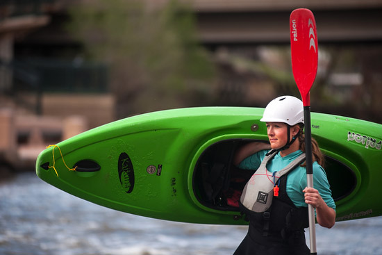 Kayaking at Cofluence Park