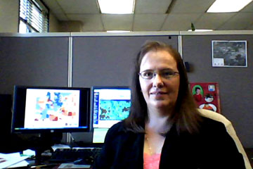 CU Denver student Laura Ferre performs an internship for the Division of Water Resources