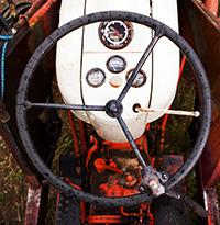 Tractor, Five Fridges Farm