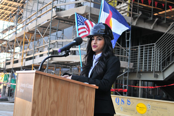 Lubna Mazin, Student Government Association Vice President