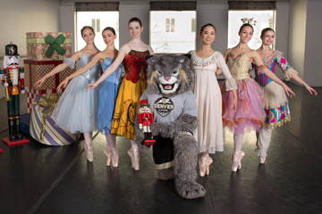Milo and the Colorado Ballet dancers
