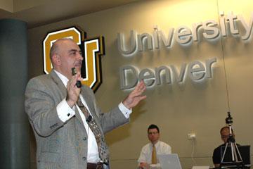 Anas Alhajji, chief economist at NGP Energy Capital Management, speaks about the shale revolution at CU Denver