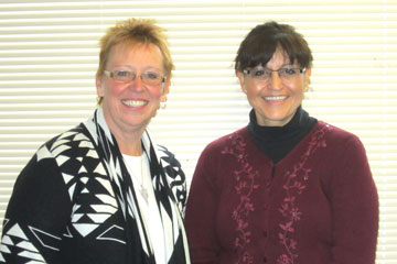 CU Denver Registrar Ingrid Eschholz and Associate Registrar Martina Juarez led effort to upgrade DARS, catalog