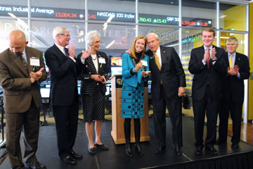 Dignitaries attend ribbon cutting of JP Morgan Center for Commodities at CU Denver