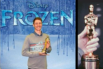 Jeff Gipson helped team Disney score an Oscar for Frozen