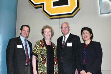 Professors and development officers at CU Denver celebrate employee philanthropy at luncheon