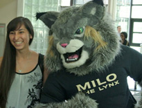 Milo and a new student