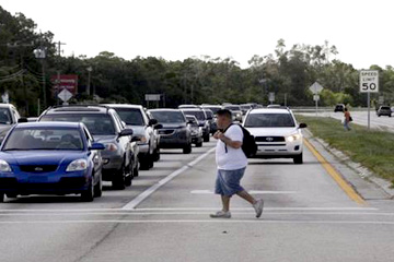 Pedestrian crossing (Photo from Naples News, Florida)