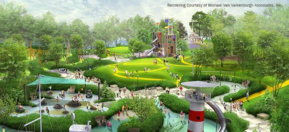 Maggie Daley Park rendering