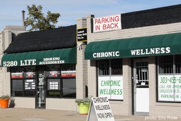 Marijuana storefront