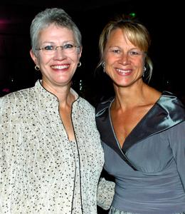 Kathy Daly and Lisa Douglas
