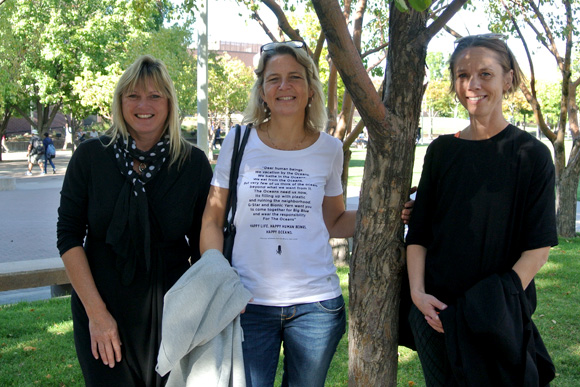 Michelle Carpenter, Lotte Stenlev, and Lotte Haag Borg