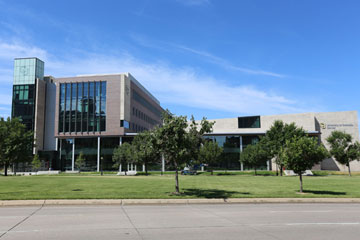 The new Student Commons Building is the first structure at CU Denver devoted solely to CU Denver students
