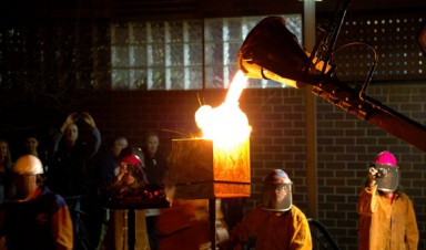 Fifth annual Iron Art Festival, 2015