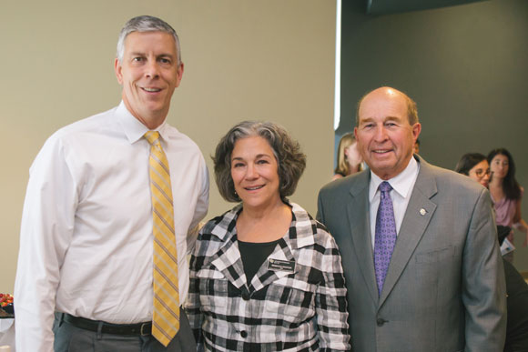 U.S. Secretary of Education Arne Duncan, Rebecca Kantor and Jerry Wartgow