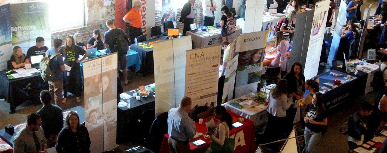 CU Denver Job and Internship fair hits record numbers